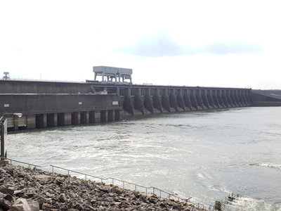 Kentucky Lock and Dam - Tennessee River side